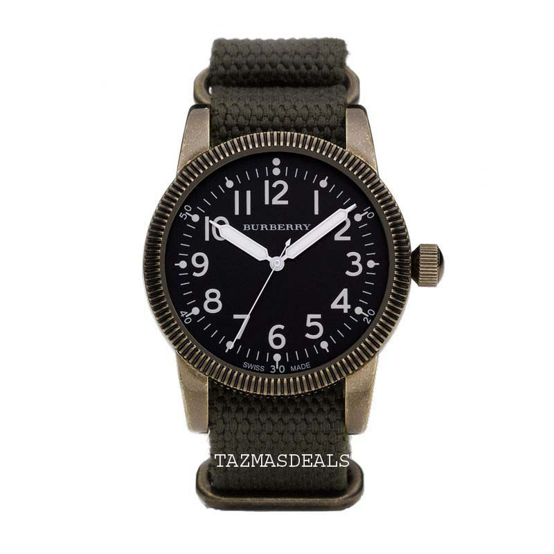 NEW Burberry military watch BU7801