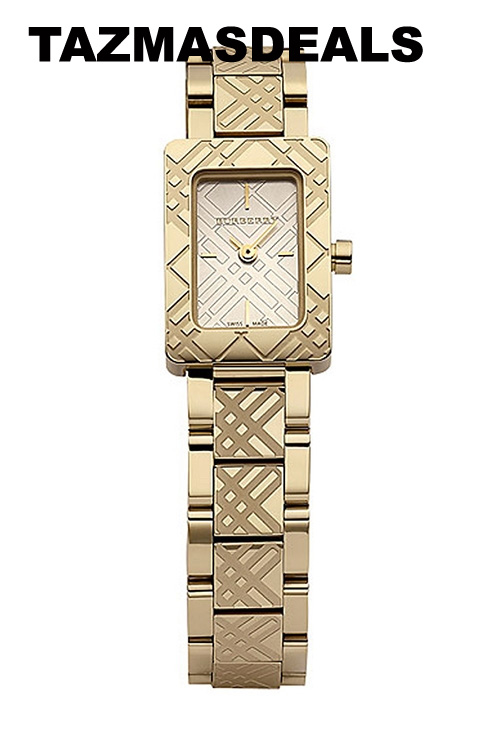 100% NEW Burberry 18K Gold BU1171 Ladie's watch BU1171