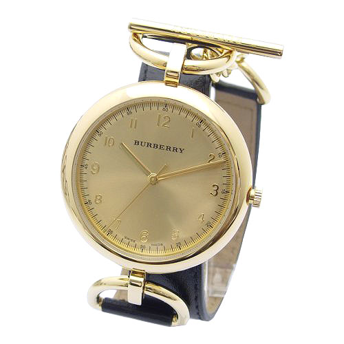 AUTHENTIC BURBERRY 18K GOLD PLATED DIAL WATCH BU5306