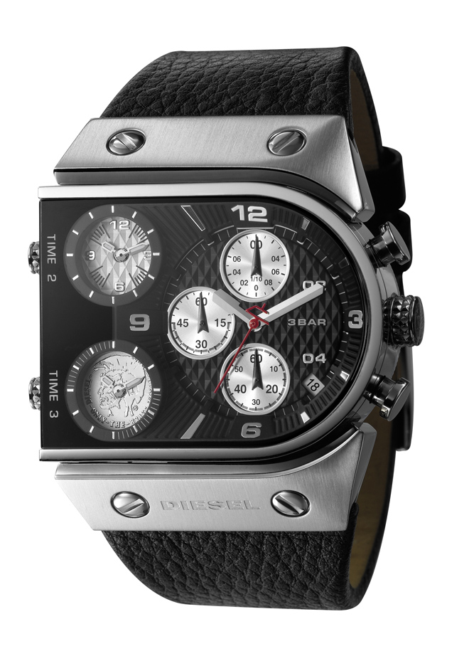 Diesel DZ9054 Mens Black Label Watch Multi Movement