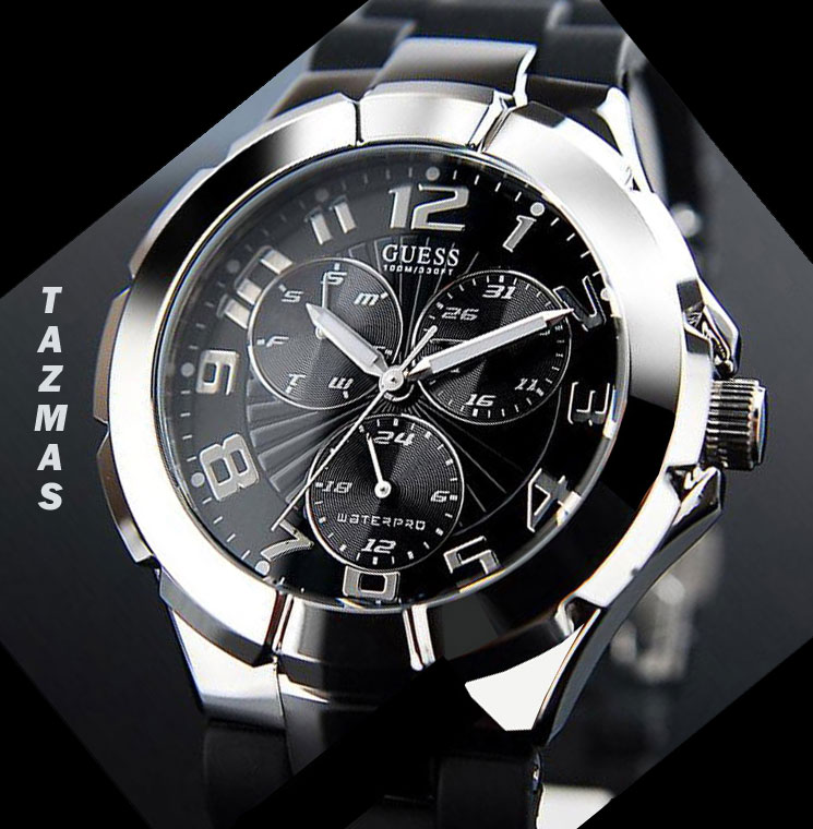 AUTHENTIC GUESS WATCH  MEN SPORT COLLECTION 2010 G90127G
