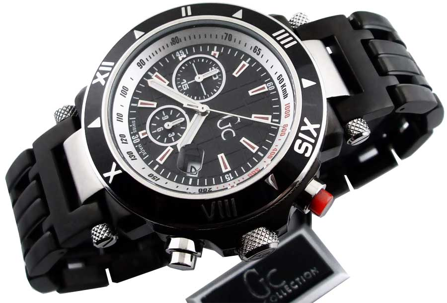 100% AUTHENTIC GUESS COLLECTION WATCH GC46000G