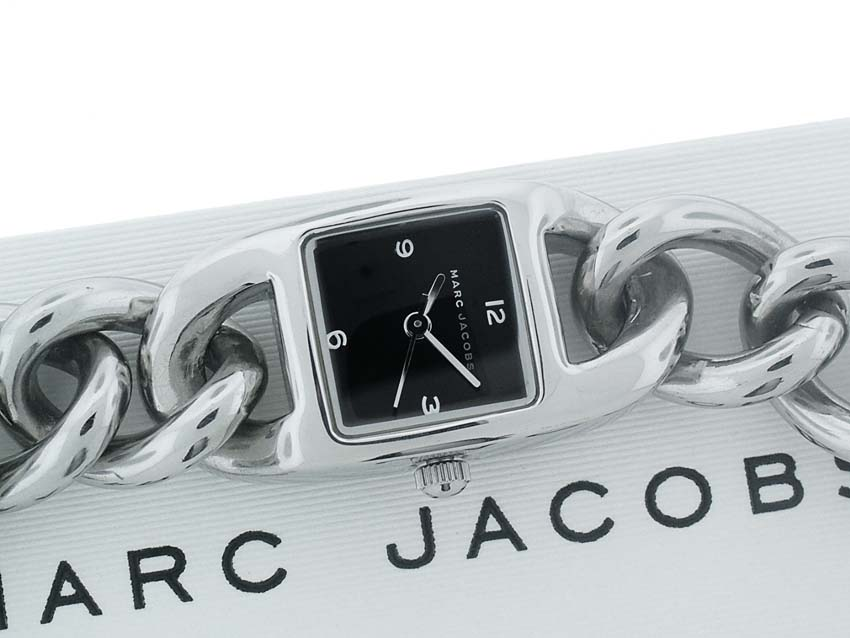 100% AUTHENTIC MARC JACOBS STAINLESS STEEL WATCH MBM1035