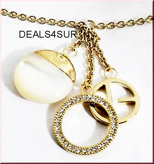 NEW EMPORIO ARMANI LADIES NECKLACE EG2283