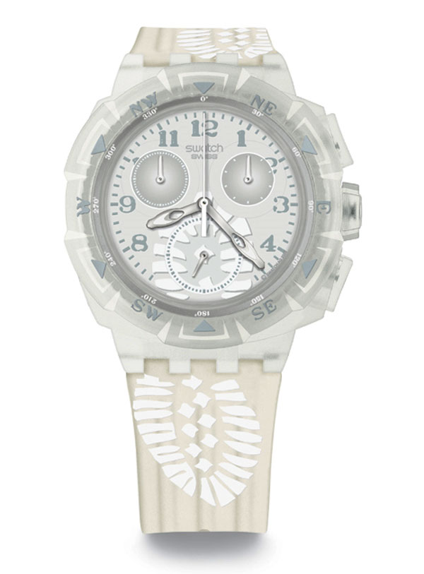 100% AUTHENTIC Swatch Unisex Chronograph WATCH SUKK100