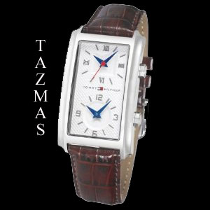 100% AUTHENTIC Tommy Hilfiger Dual Time Men Watch 1710153