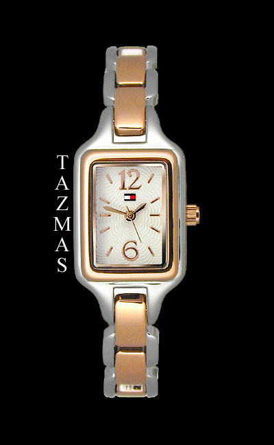 100% AUTHENTIC Tommy Hilfiger Two-Tone Ladies Watch 1780734