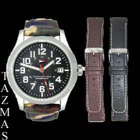 100% AUTHENTIC Tommy Hilfiger Interchangeable Men Watch 1790633