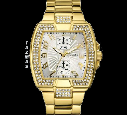 AUTHENTIC GUESS WATCH SWAROVSKI U13545L1 COLLECTION 2010