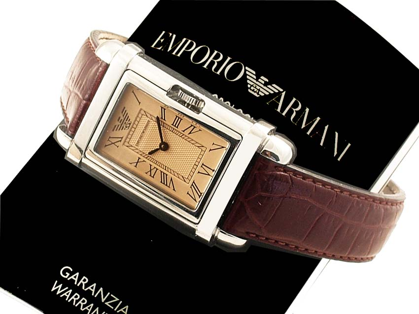 100% AUTHENTIC EMPORIO ARMANI CLASSIC WATCH AR0259 APR 495.00