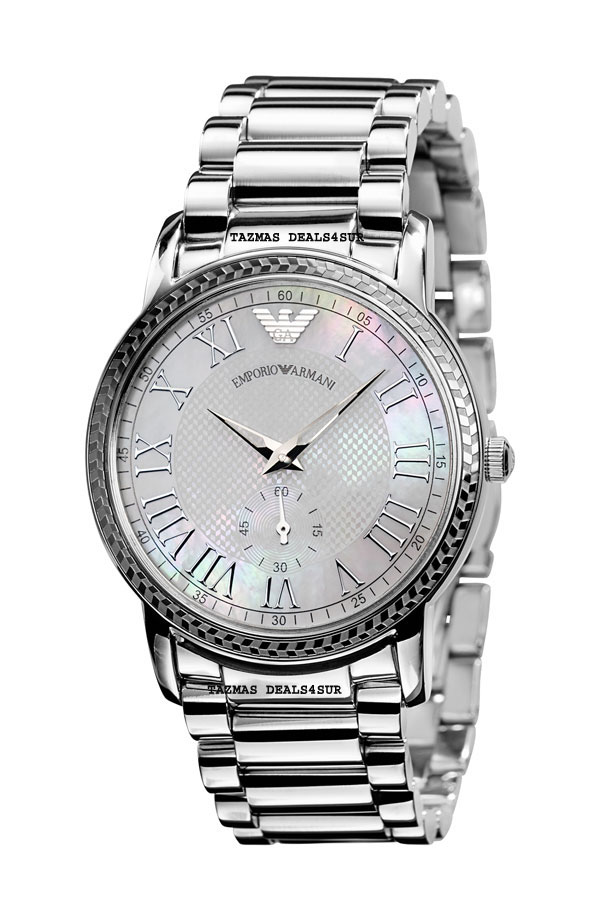 100% AUTHENTIC Emporio Armani  Stainless Steel Case  WatchAR0469