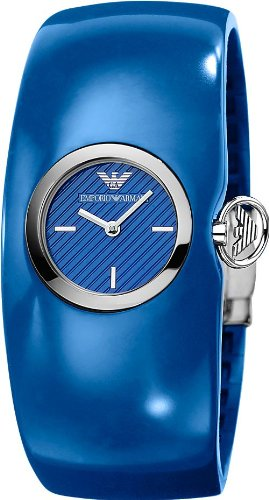 100% AUTHENTIC Emporio Armani Donna BlueWatch AR0742