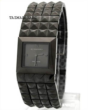 NEW WATCH BU5352 Burberry pyramid black women