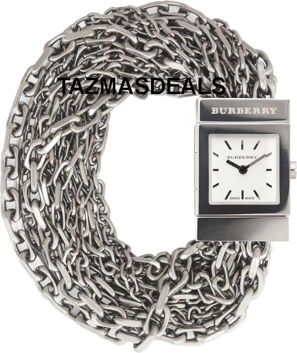 NEW BURBERRY BU5600 MESH CHAIN BRACELET WATCH      Zoom     Enla