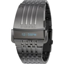 Diesel  Super Bad ASS Digital Gunmetal  Watch DZ7111