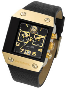 100% AUTHENTIC Diesel Gold Chronograph Watch DZ9034