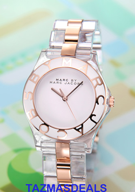 MARC BY MARC JACOBS ROSE GOLD PLASTIC Watch MBM4542